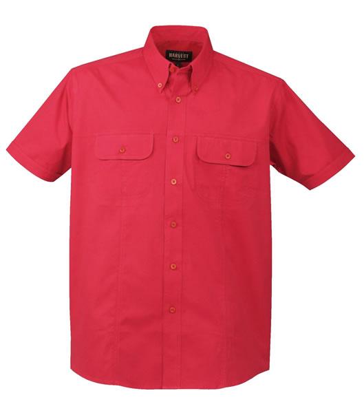Koszula H 2133011 HILLSBORO - hillsboro_red_400_H - Kolor: Red