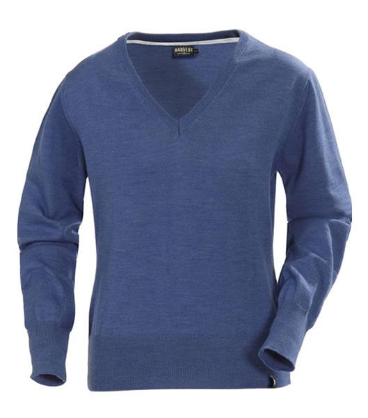 Sweter Ladies H 2122031 FLORENCE - florence_navy_melange_585_H - Kolor: Navy melange