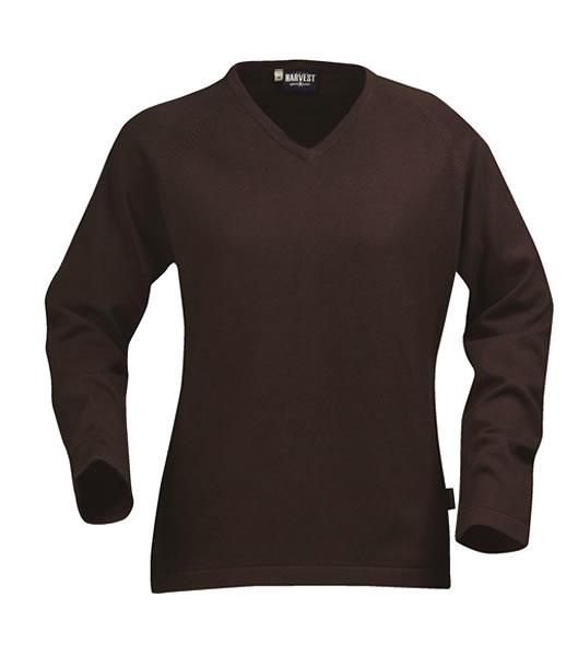 Sweter Ladies H 2122009 MARYLAND - maryland_brown_801_H - Kolor: Brown