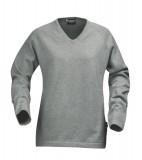 Sweter Ladies H 2122009 MARYLAND - maryland_grey_melange_131_H Grey melange