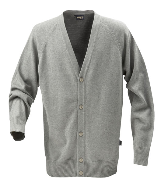Sweter H 2112026 BOSTON - boston_grey_melange_131_H - Kolor: Grey melange