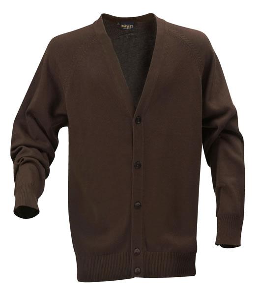 Sweter H 2112026 BOSTON - boston_brown_801_H - Kolor: Brown