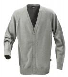 Sweter H 2112026 BOSTON - boston_grey_melange_131_H Grey melange