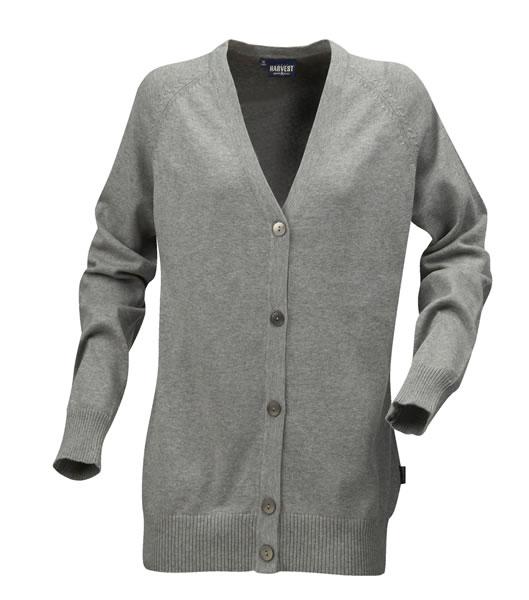 Sweter Ladies H 2122027 BURLINGTON - burlington_grey_melange_131_H - Kolor: Grey melange