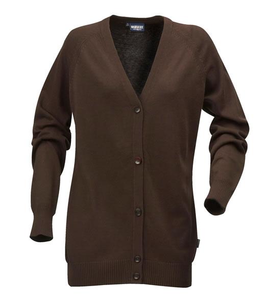 Sweter Ladies H 2122027 BURLINGTON - burlington_brown_801_H - Kolor: Brown
