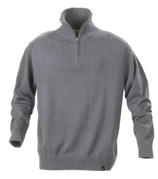 Sweter H 2112028 LARGO - largo_grey_melange_131_H - Kolor: Grey melange