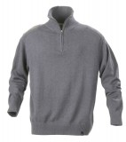 Sweter H 2112028 LARGO - largo_grey_melange_131_H Grey melange