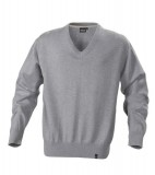 Sweter H 2112027 LOWELL - lowell_grey_melange_131_H Grey melange