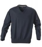 Sweter H 2112027 LOWELL - lowell_navy_melange_612_H Navy melange