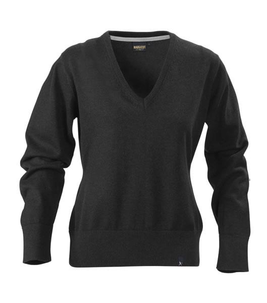 Sweter Ladies H 2122029 LORAINE - loraine_black_melange_905_H - Kolor: Black melange