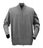 Sweter H 2112025 LEEDS - leeds_grey_melange_131_H Grey melange