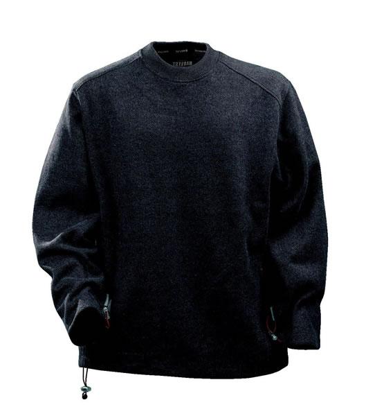 Bluza H 2112016 DALTON - dalton_brown_melange_850_H - Kolor: Brown melange