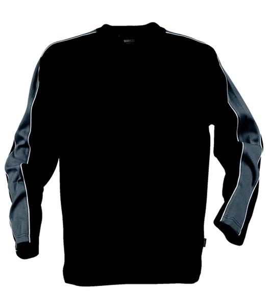 Bluza H 2132010 WILCOX - wilcox_grey_black_930_H - Kolor: Grey / Black