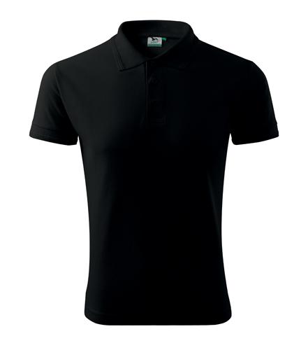 Koszulki Polo A 203 PIQUE POLO 200 - 203_01_A - Kolor: Czarny
