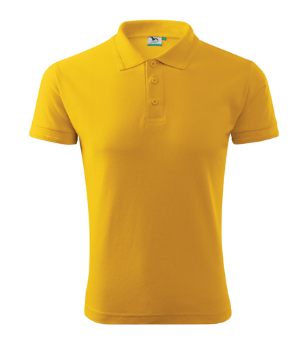 Koszulki Polo A 203 PIQUE POLO 200 - 203_04_A - Kolor: Żółty