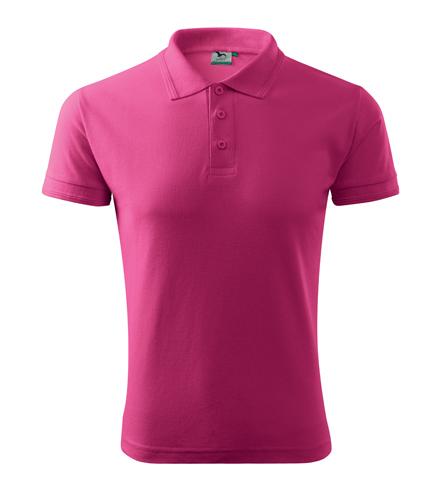 Koszulki Polo A 203 PIQUE POLO 200 - 203_40_A - Kolor: Czerwień purpurowa