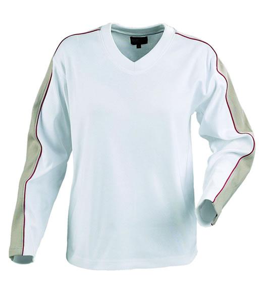 Bluza H 2122012 AKRON - akron_stone_white_186_H - Kolor: Stone / White