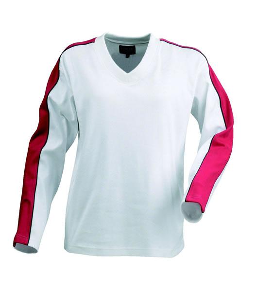 Bluza H 2122012 AKRON - akron_red_white_400_H - Kolor: Red / White