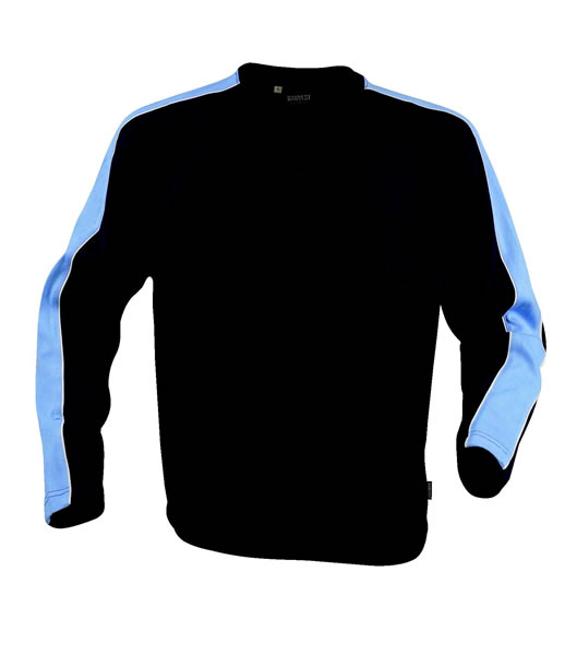 Bluza H 2122012 AKRON - akron_pigeon_blue_navy_655_H - Kolor: Pigeon blue / Navy