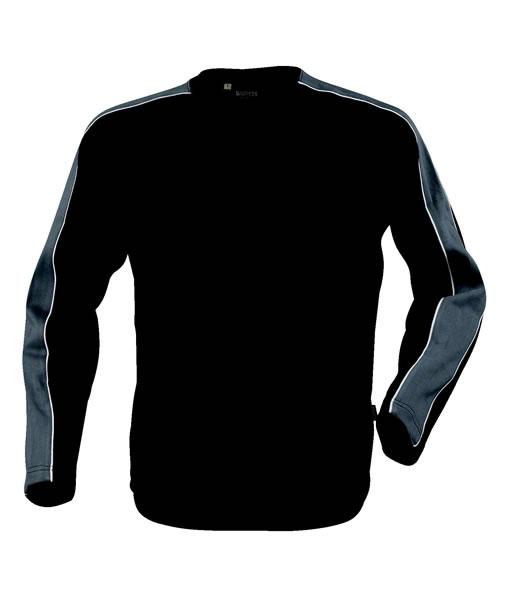 Bluza H 2122012 AKRON - akron_grey_black_930_H - Kolor: Grey / Black