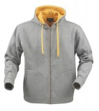 Bluza H 2111023 PRESCOTT  - prescott_grey_melange_131_H Grey melange