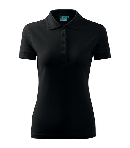 Koszulki Polo Ladies A 210 PIQUE POLO 200 - 210_01_A - Kolor: Czarny