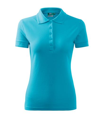 Koszulki Polo Ladies A 210 PIQUE POLO 200 - 210_44_A - Kolor: Turkus