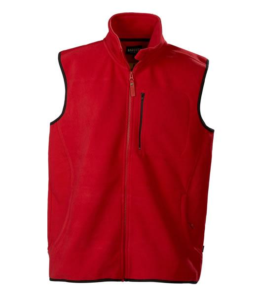 Kamizelka polarowa H 2132014 PASADENA - pasadena_red_400_H - Kolor: Red