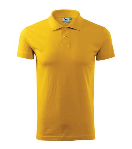 Koszulki Polo Unisex A 202 SINGLE J. 180 - 202_04_A - Kolor: Żółty