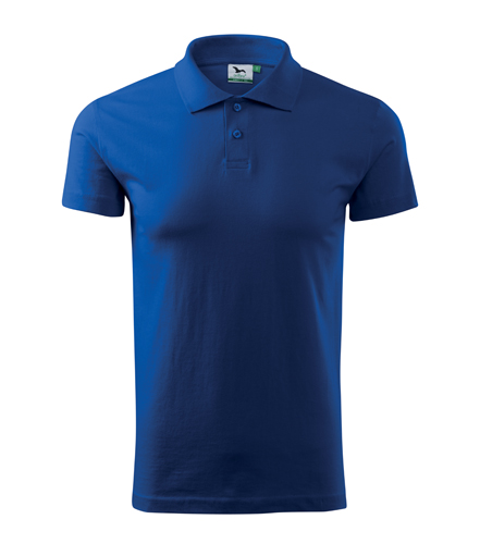 Koszulki Polo Unisex A 202 SINGLE J. 180 - 202_05_A - Kolor: Chabrowy