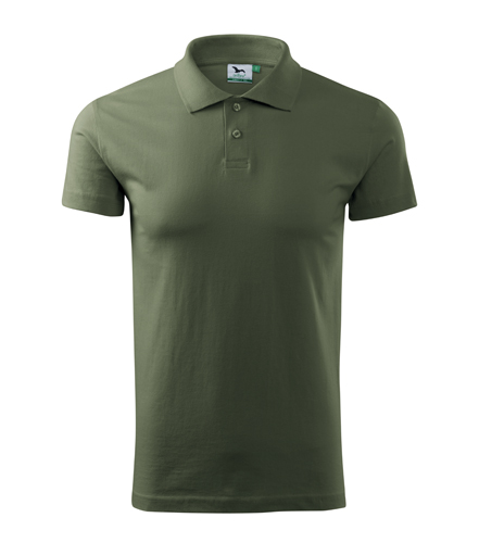 Koszulki Polo Unisex A 202 SINGLE J. 180 - 202_09_A - Kolor: Khaki