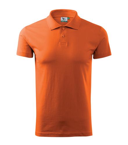 Koszulki Polo Unisex A 202 SINGLE J. 180 - 202_42_A - Kolor: Bursztynowy