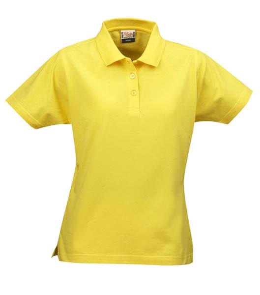 Koszulki Polo Ladies P 2065009 Surf  - surf_l_lemon_208_P - Kolor: Lemon
