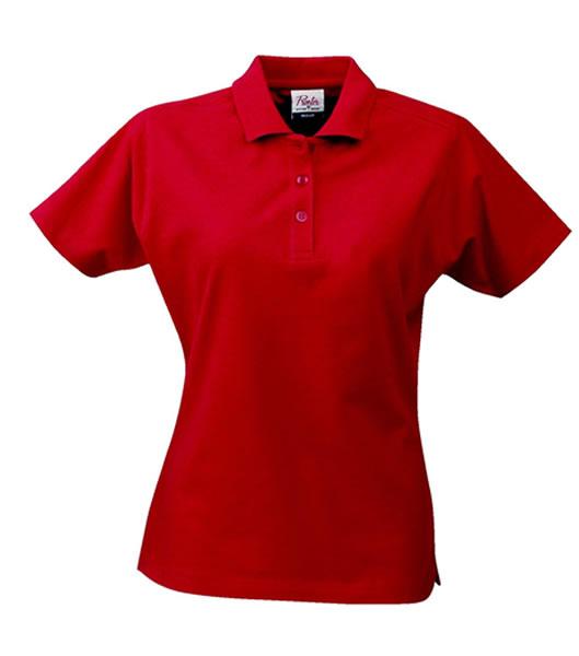 Koszulki Polo Ladies P 2065009 Surf  - surf_l_red_400_P - Kolor: Red
