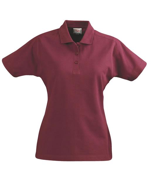 Koszulki Polo Ladies P 2065009 Surf  - surf_l_bordeaux_481_P - Kolor: Bordeaux