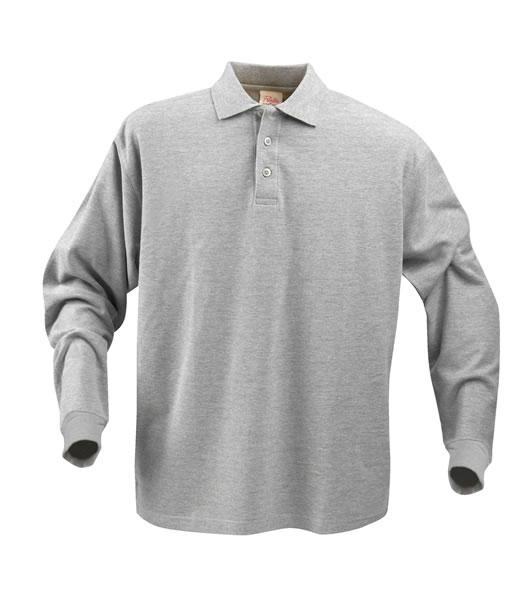 Koszulki Polo P 2065010 Surf Long Sleeve - surf_long_grey_melange_120_P - Kolor: Grey melange