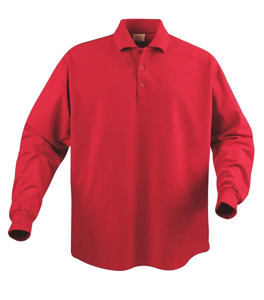 Koszulki Polo P 2065010 Surf Long Sleeve - surf_long_red_400_P - Kolor: Red