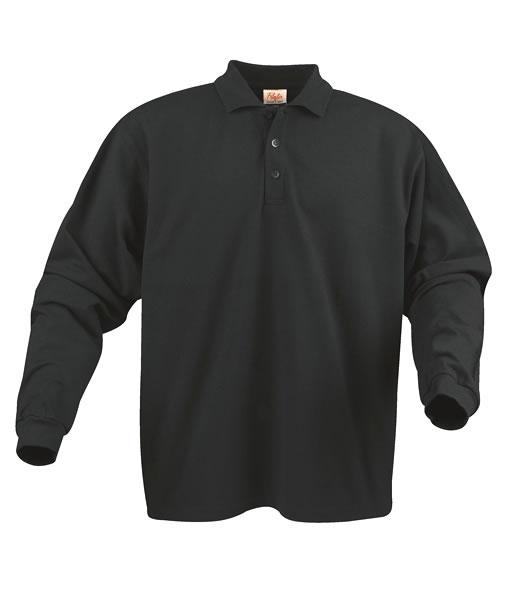 Koszulki Polo P 2065010 Surf Long Sleeve - surf_long_black_900_P - Kolor: Black
