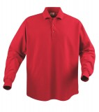 Koszulki Polo P 2065010 Surf Long Sleeve - surf_long_red_400_P Red