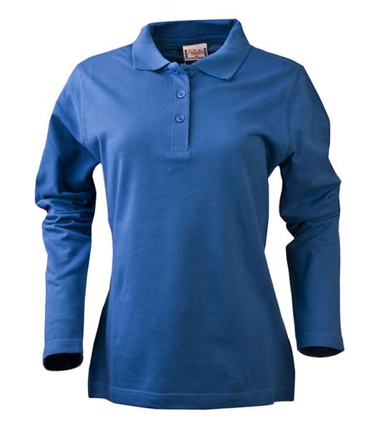 Koszulki Polo Ladies P 2065012 Surf Long Sleeve - surf_l_long_petrol_523_P - Kolor: Petrol
