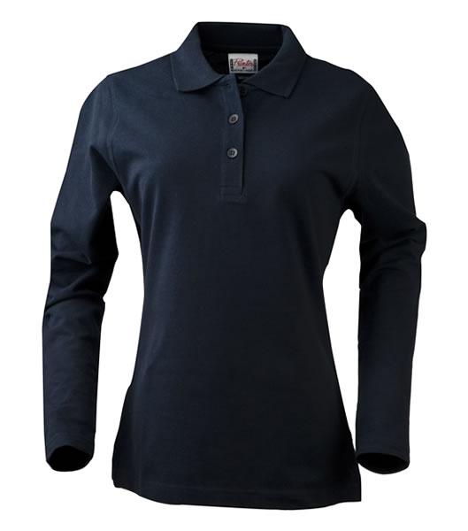 Koszulki Polo Ladies P 2065012 Surf Long Sleeve - surf_l_long_navy_600_P - Kolor: Navy