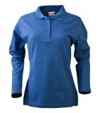 Koszulki Polo Ladies P 2065012 Surf Long Sleeve - surf_l_long_petrol_523_P Petrol