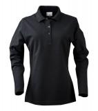 Koszulki Polo Ladies P 2065012 Surf Long Sleeve - surf_l_long_black_900_P Black