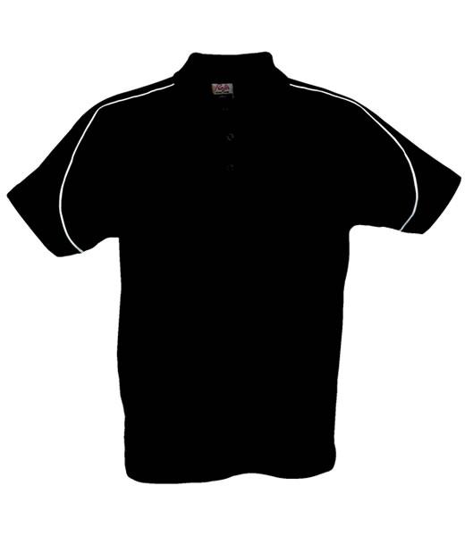 Koszulki Polo P 2065008 Canoe - canoe_black_900_P - Kolor: Black