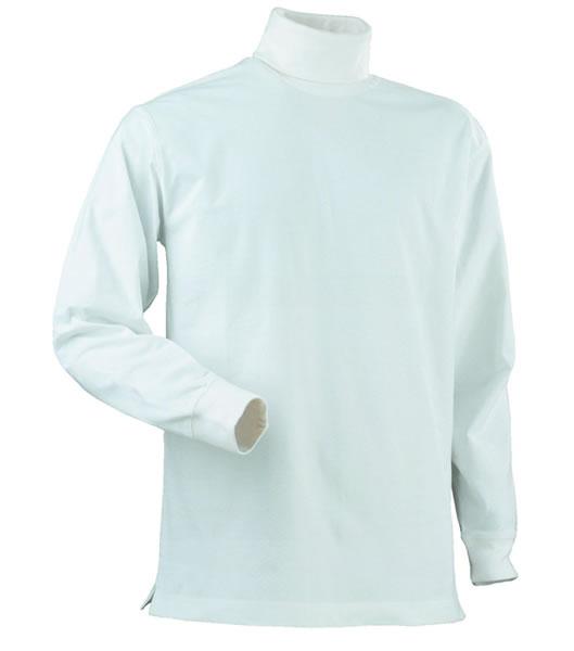 Koszulka z golfem P 2064005 Rollerneck - rollerneck_white_100_P - Kolor: White