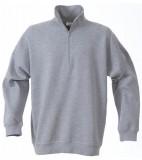 Bluza ze stójką P 2262034 Roundres - rounders_grey_melange_120_P Grey melange