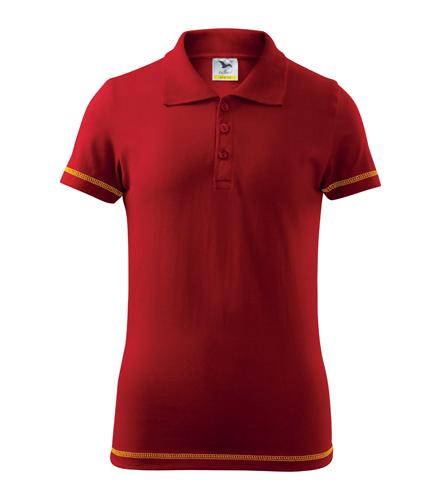 Koszulki Polo Kid A 205 JUNIOR - 205_07_A - Kolor: Czerwony