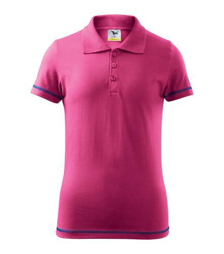 Koszulki Polo Kid A 205 JUNIOR - 205_40_A - Kolor: Czerwień purpurowa