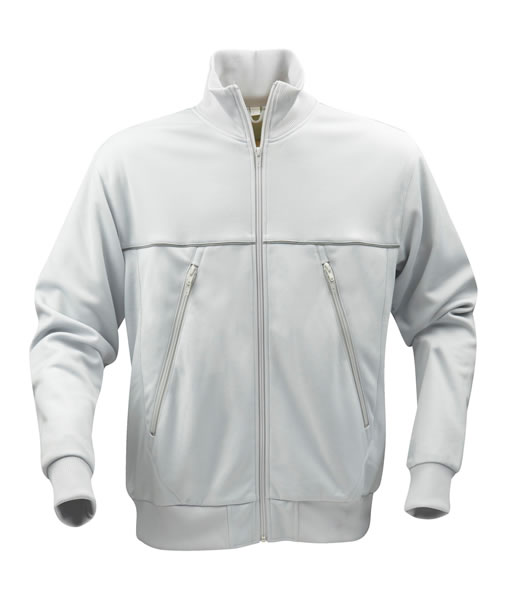 Bluza dresowa P 2061030 Track - track_lightgrey_lime_116_P - Kolor: Light grey / Lime