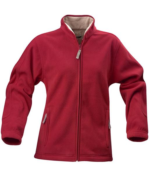 Bluzy polarowe Ladies P 2061032 Frisbee - frisbee_red_400_P - Kolor: Red